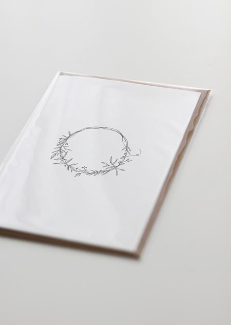 Wreath (greeting card)