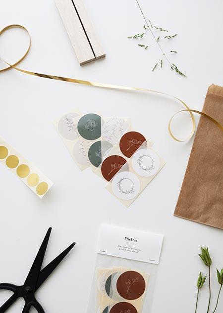 Stickers - botanic set