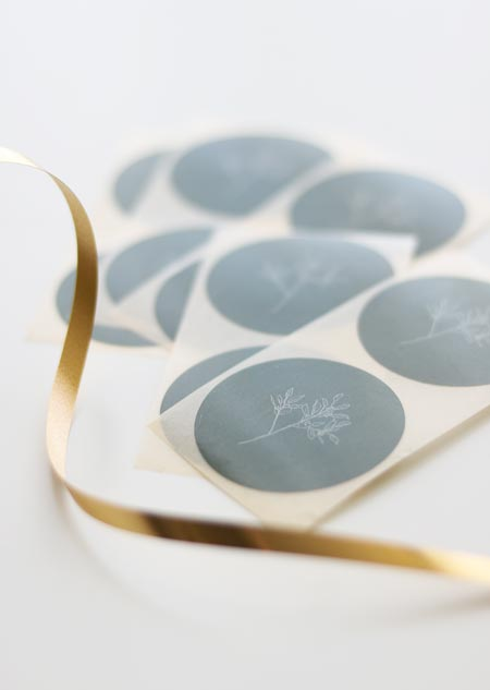Sticker set - eucalyptus