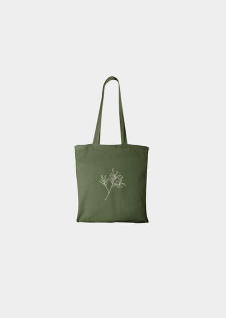 Canvas bag - eucalyptus