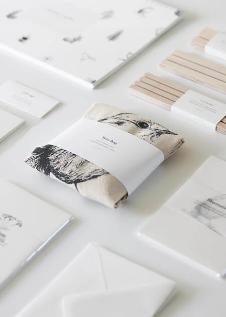 Canvas bag - robin