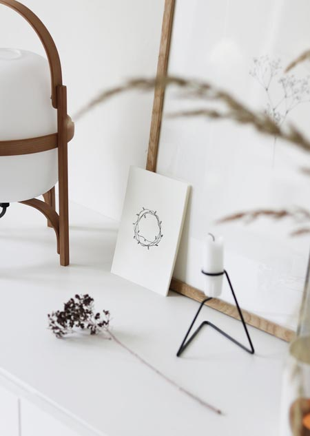 Botanic set of 12 (black-white)