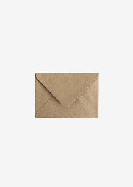 Envelop A6 - kraft