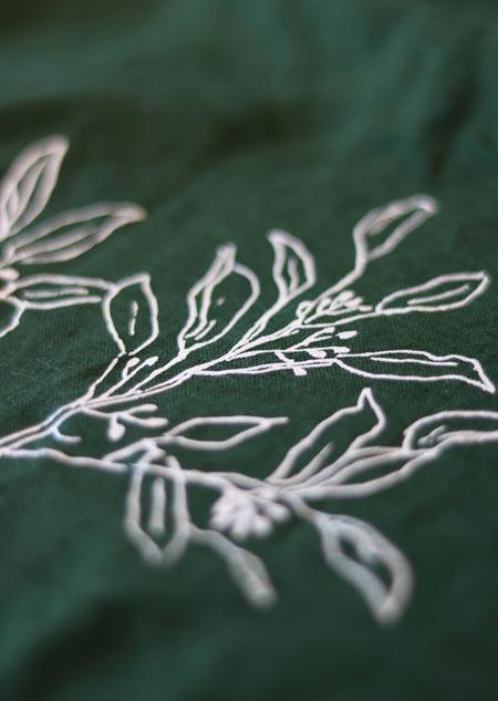 Canvas bag - eucalyptus