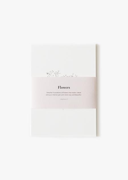 Bloemen set van 6