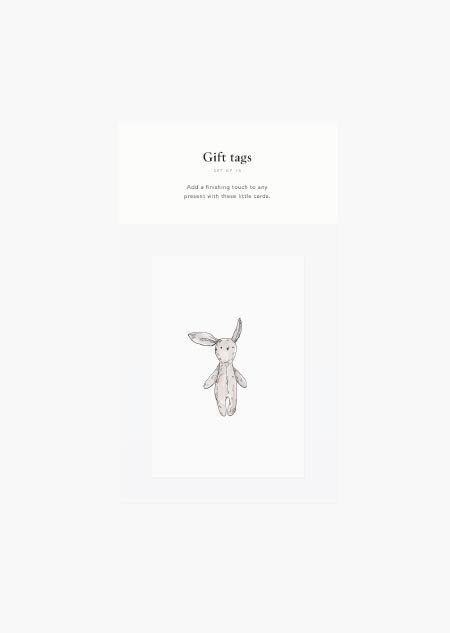 Gift tags - animals