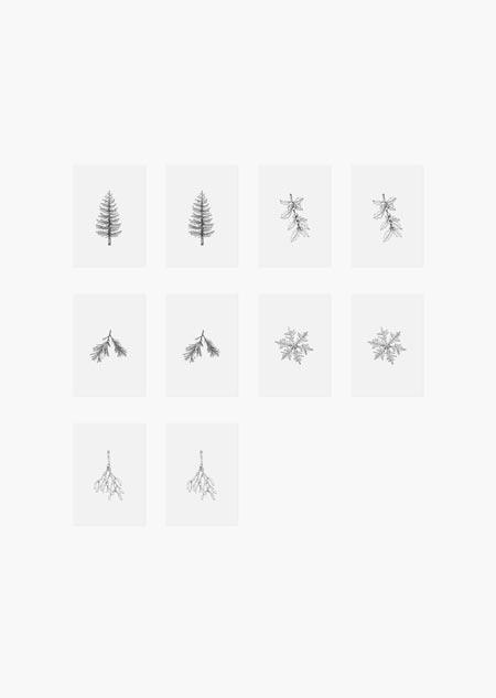 Cadeaukaartjes - winter