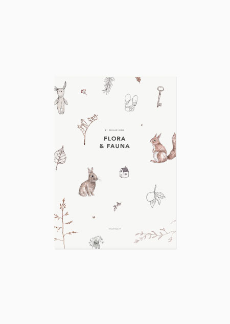 Flora & fauna - set of 31
