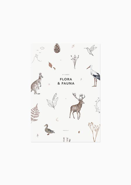 Flora & fauna II - set of 31