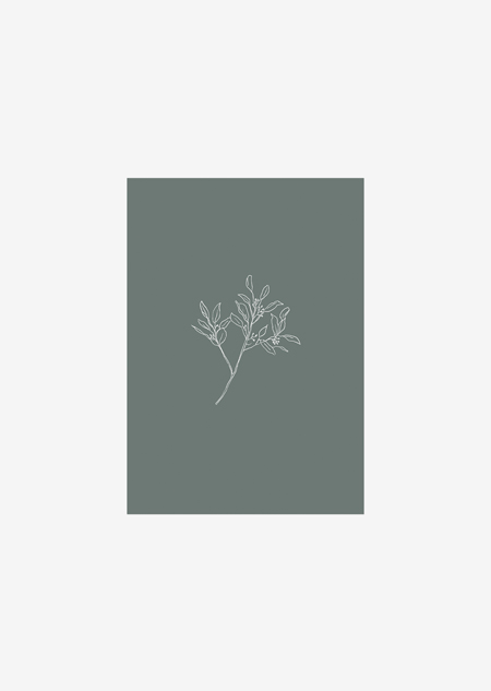 Label - eucalyptus