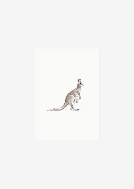 Label - 10x kangoeroe