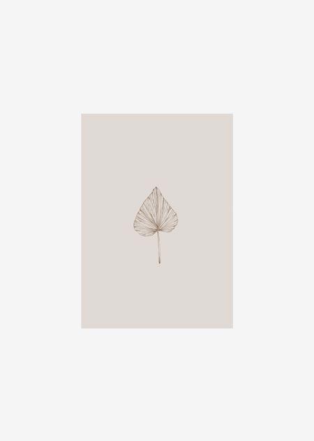 Label - 10x palm blad