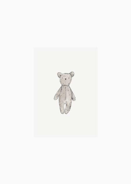 Label - knuffelbeer