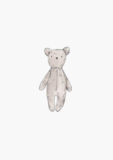 Teddy bear (color)