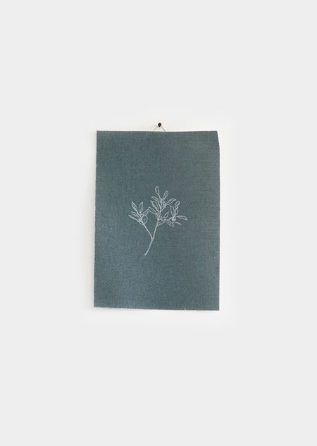 Katoenen poster - eucalyptus (small)