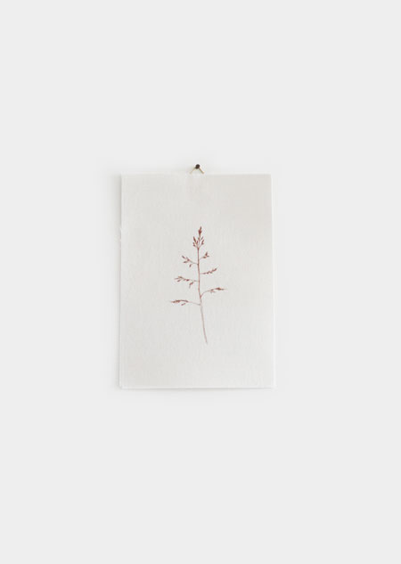 Textile poster - grass (small)