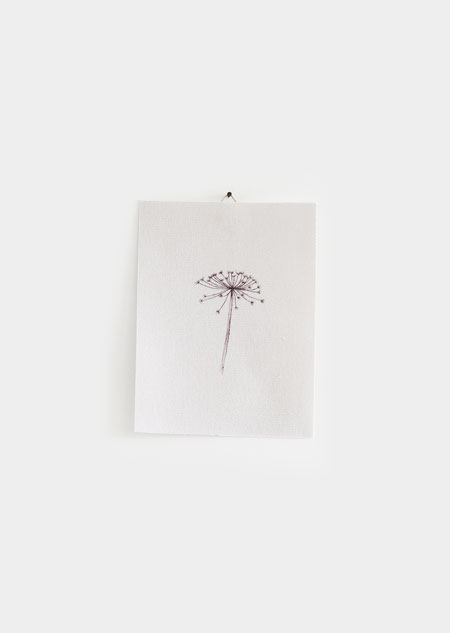 Textile poster - hogweed (small)