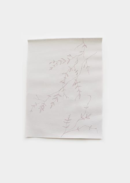 Textiel poster - jasmijn