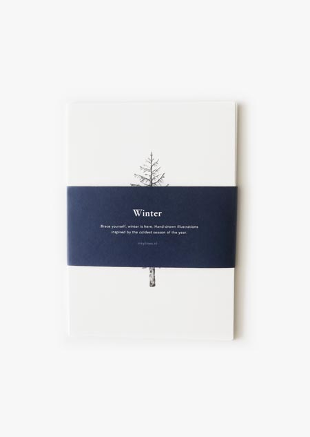 Winter set of 6